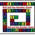 Roll and Say Number Math Game is a simple number game for young children. They simply roll a die, move their pawn and say the number that they land. Maths Games Ks1, Activities, Roll A Die, Number Games, Young Children, Student Learning, Outline, Numbers, Sayings