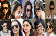 Is your #eyewear #style mantra similar to your favorite celeb? #aviators Check out http://www.shopglasses.co.in/sunglasses/ to pick a style of your choice.