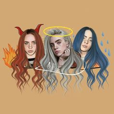 Made with PicsArt by billie eilish Billie Eilish, Art Sketches, Art Drawings, Pencil Drawings, Pics Art, Fan Art, Cartoon Art, Cute Wallpapers, Cover Art