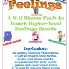 Embrace and foster your students' emotional intelligence with this set of resources for teaching vocabulary for specific emotions to kids from kinder . Teaching Emotions, Teaching Vocabulary, Childhood Education, Kids Education, Social Emotional Activities, Social Well Being, Feelings Words, Thing 1, Little Learners