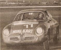 Emerson Fittipaldi in the Alfa Romeo Zagato of Scuderia Jolly Gancia