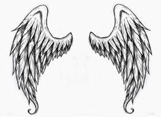 Wings tattoo stencilsAngel Wings Free Tattoo Stencil - Angel Wings Free Tattoo Designs For Women - Angel Wings Free Printable Tattoo Stencils. Angel Wings Tattoo On Back, Angel Wings Drawing, Wing Tattoos On Back, Baby Angel Wings, Back Tattoo, Tattoo Wings, Chinese Tattoo Designs, Wing Tattoo Designs, Design Tattoos