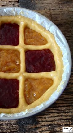 Πάστα φλόρα νηστίσιμη - Συνταγή i-Food.gr by Giorgio Spanakis Edible Art, Greek Recipes, I Foods, Waffles, Caramel, Sweet Tooth, Flora, Deserts, Goodies