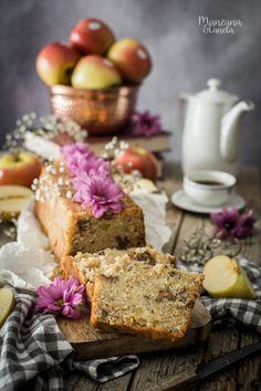 Vegan apple and oat cake Vegan Cake, Vegan Desserts, Vegan Recipes, Brunch, Apple Cake Recipes, Sweet Bread, Sin Gluten, Going Vegan, Tasty Dishes