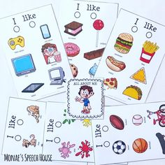 Visual cues for nonverbal and limited verbal students help improve communication skills. These are great for autism, early childhood and prek students, especially for Back to School, All About Me, social skills, and speech therapy.