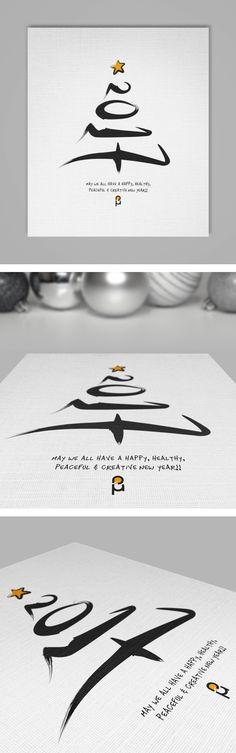 Illustrative calligraphy.