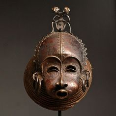 ARTENEGRO Gallery with African Tribal Art » Blog Archive » Tikar CIMIER Male Mask