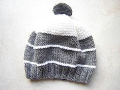 Ravelry: Bonnet mi-jersey mi-mousse pattern by Le Petit Poussin