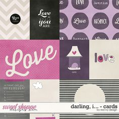 Darling, I... - Cards by Red Ivy Design