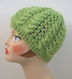A stunning stitch design collides with a calming spring green color in the Refreshing Zen Hat. This soothing knit hat pattern is a burst of spring and is sure to keep knitters interested from cast on to cast off. Knit with less than one skein of worsted weight yarn, the Refreshing Zen Hat is a great way to clear out your yarn bin while making a unique knit accessory for spring.