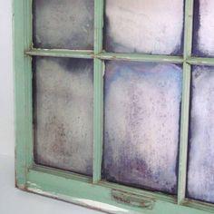 Antique Rustic Window / Mirror