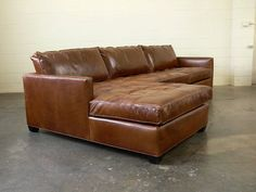 nice brown leather arizona leather sectional sofa with chaise top grain. Black Bedroom Furniture Sets. Home Design Ideas