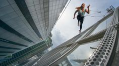 Nike challenged me to walk on air so I jumped off a skyscraper
