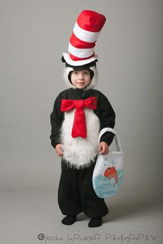 cat in the hat costumedr seussno bag by maxandmeena on etsy 5500 halloween cathalloween costume ideashappy - Cat In The Hat Halloween Costume Ideas