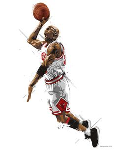 Michael Jordan Illustration