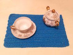 jogo americano - breakfast - crochet -  barbante 85% algosão