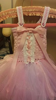 Baby dress pattern crochet tutus 46 ideas for 2019 Crochet Princess, Baby Girl Crochet, Crochet Baby Clothes, Crochet For Kids, Free Crochet, Crochet Top, Crochet Crafts, Crochet Projects, Crochet Tutu Dress