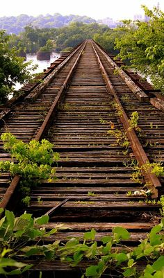 The Old Railroad Bridge, The Shoals area of Alabama, U.S