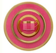 Pink & gold by deirdre