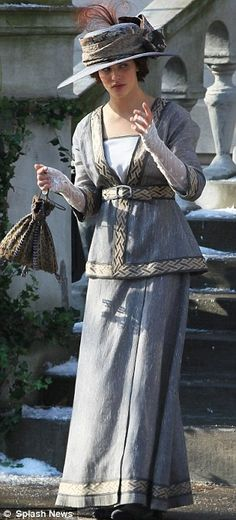 Winter Tale movie costume. early 20th century fashion