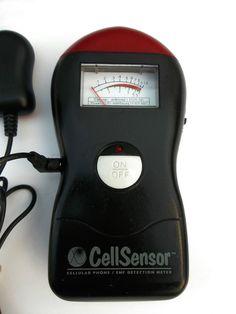 Technology Alternatives 7021 Cell Phone Radiation Sensor EMF Detection Meter #TechnologyAlternatives