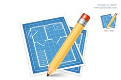 High resolution blue print icon for designers useful for blueprint clipart google search malvernweather Image collections