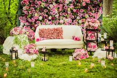 I'm swooning over the flower wall backdrops that have been appearing all over my Pinterest feed. Who wouldn't want this jaw-dropping backdrop to enhance the beauty of their wedding photos? It's a great statement piece that works great as a … Continue reading →Read more...