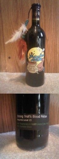World of Warcraft Wine Bottle - lost the link :(