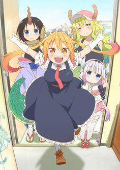 El Anime Kobayashi-san Chi no Maid Dragon tendrá siete volúmenes Blu-ray con dos episodios.