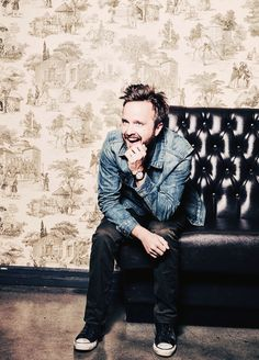 Jesse / Aaron Paul, Jessie Pinkman in Breaking Bad, male actor, celeb, portrait, photo