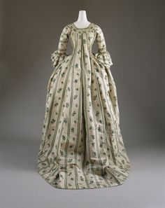 1750-1775, France - Silk Robe à la Française