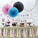 Tassle Garland Party Bunting Decoration