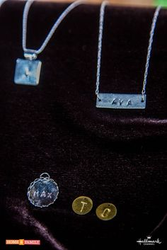 Personalize your jewelry w/ @tmemme28's Metal Stamped Necklaces!