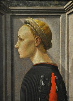 Portrait of a Woman Attributed to Paolo Uccello (Paolo di Dono) (Italian, Florentine, 1397–1475) 1430s. MET, NYC