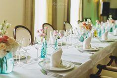 Wedding Decor, Wedding Centrepieces, Maslenica, Solta, Croatia Photo by marymoon.ru
