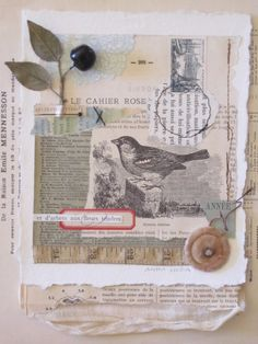 Vintage Portfolio with Beeswax - Art Is...You - Your Mixed Media Art Retreats
