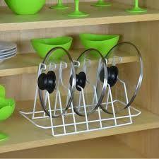 Resultado de imagem para walmart organizadores para cozinha-organizador para tampas de panelas