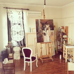 Bülent Gürcihan's studio...