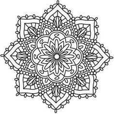 Super Tattoo Mandala Design Inspiration Coloring Pages Ideas Mandala Coloring Pages, Coloring Book Pages, Embroidery Patterns, Hand Embroidery, Indian Embroidery, Embroidery Stitches, Paisley, Urban Threads, Printable Coloring