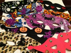 Duck tape Halloween masks!