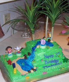 Dora Birthday Cake Photo