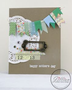 Shabby Chic Mother's Day Card by Annette Witherspoon