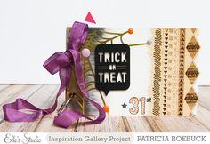 Trick or Treat Mini Album | Elle's Studio by Patricia R.
