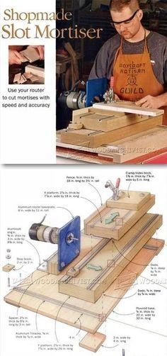 Slot Mortiser - Joinery Tips, Jigs and Techniques | WoodArchivist.com