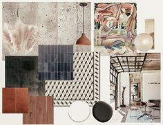 """Cierra Warness on Instagram: """"Infusing artistry in every element • mood board for cafe/ bar • featuring a beautiful piece by @cequarles •  #interiordesign #moodboard…"""" Cafe Bar, Mood, Interior Design, Beautiful, Instagram, Nest Design, Home Interior Design, Interior Designing, Home Decor"""
