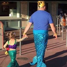 This dad who makes sure every day is magical. | 17 Dads Who Were Literally EVERYTHING