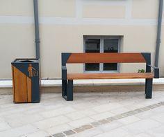 guyon banc public en bois legna fourqueux