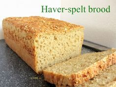 Gezond haver-spelt brood, recept, zelf maken, no knead bread, niet kneden brood, makkelijk en snel, oven, bakken, twee broden, healthy, oats, ontbijt, lunch