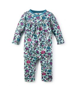 Papel Tapiz Wrap Neck Romper- 18-24M ONLY from Ella Bella Maternity Boutique