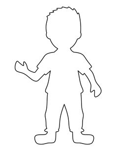 Boy pattern. Use the printable outline for crafts, creating stencils, scrapbooking, and more. Free PDF template to download and print at http://patternuniverse.com/download/boy-pattern/